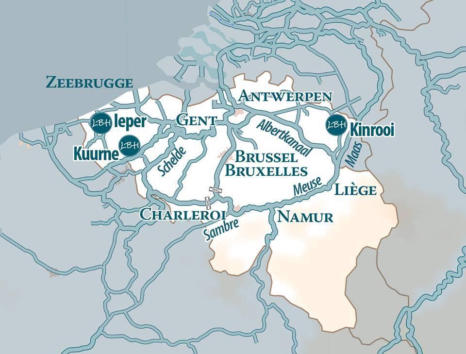 Bboat bootsurlaub Belgien